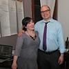 Jason Dunda and Teena McClelland at Sunday Dinner Club talk