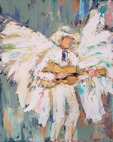 Angel Hank Williams  SOLD