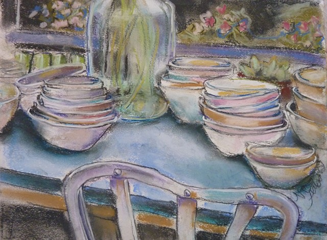 table setting, dishes, table, furniture,