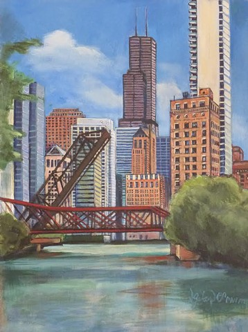 Chicago River  SOLD