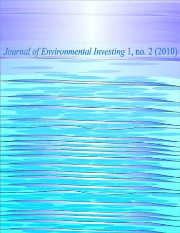 The Journal for Environmental Investing (JEI) - Cover Design