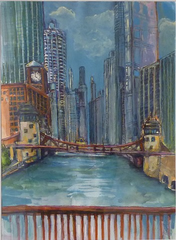SOLD   Chicago River Canyon