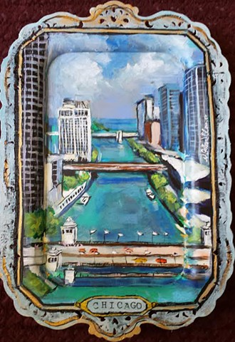 Chicago River Tray