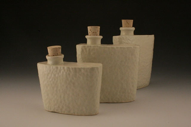 tequila flasks ceramic