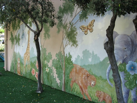 Nursery School Play Yard
