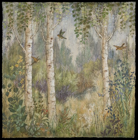 Three Birches