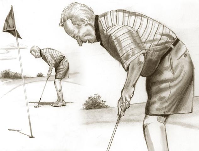Scott Sabolich Prosthetics Golfer