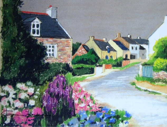 Welsh Village Road