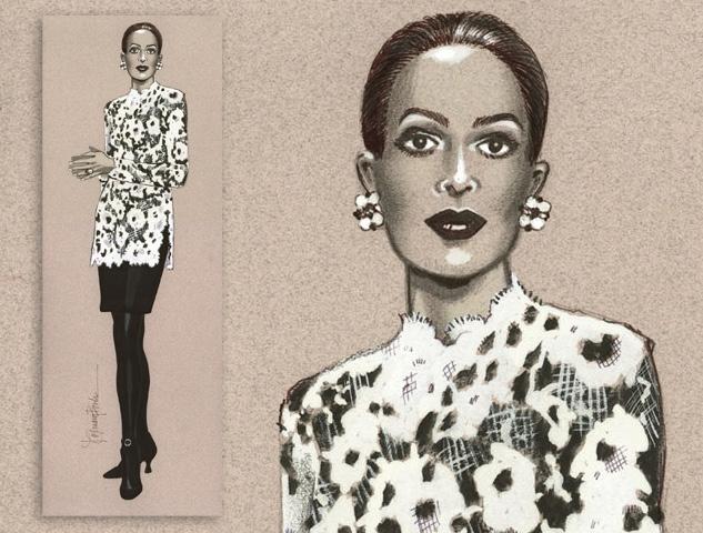 Carolina Herrera Collection Ad