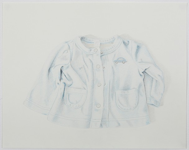 Celia Rocha graphite and color pencil on paper drawing