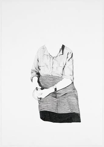 graphite drawing on paper celia rocha