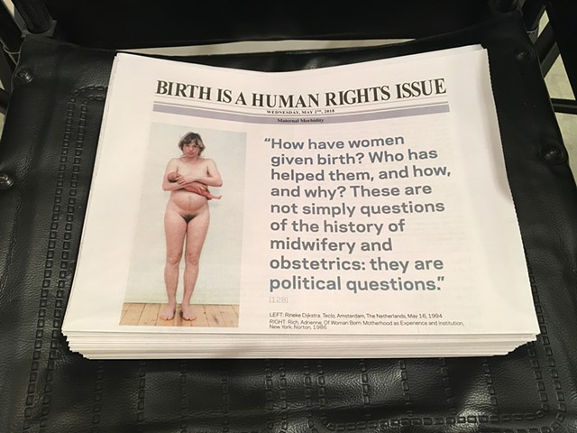 celia rocha birth human rights newspaper cesarean section hospital maternal mortality