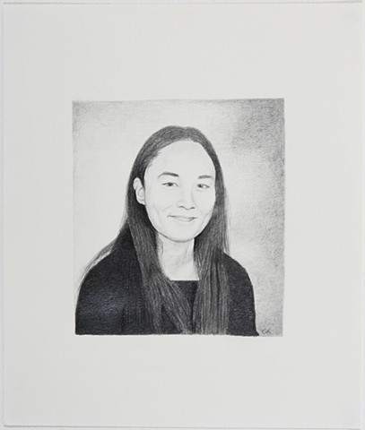 Celia Rocha graphite on paper drawing