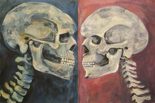 His And Hers, Skull Study