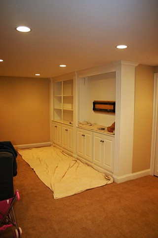 Colden Residence - Basement Renovation