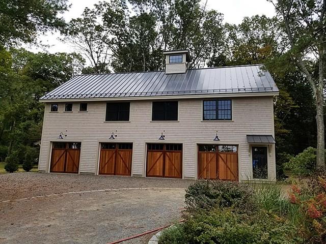 Hoffman Barn - North Elevation
