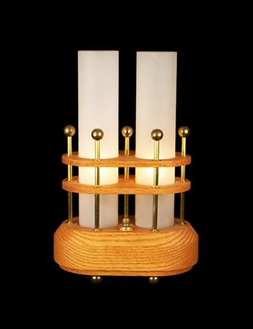 2 Cylinder Lamp