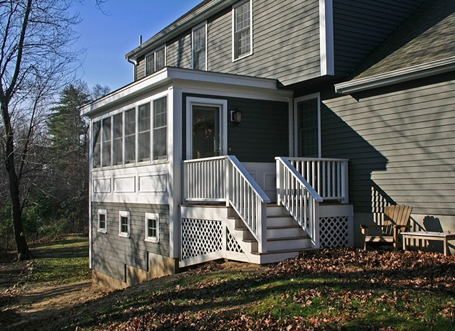 Boyle Residence - Three Season Porch and Storage Area