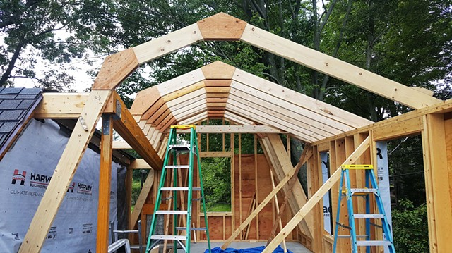 Gambrel Framing