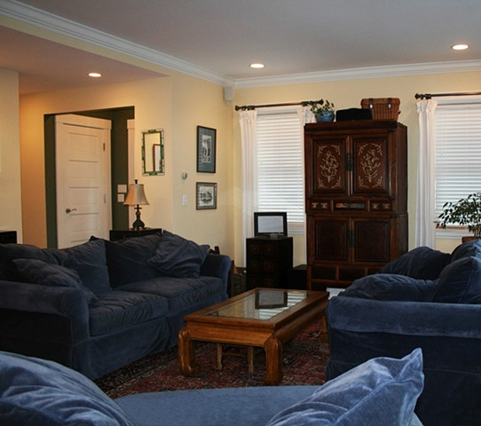 Getz Residence - Living Room, 1/2 Bath, Master Bedroom, Master Closet, and Master Bath Addition