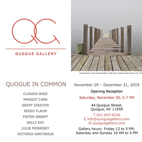 Quogue Gallery Fall 2019