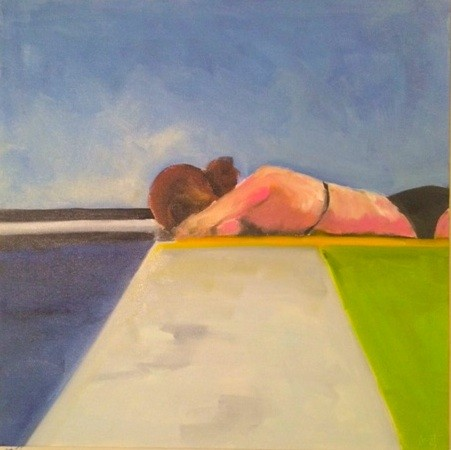 pool nap - SOLD
