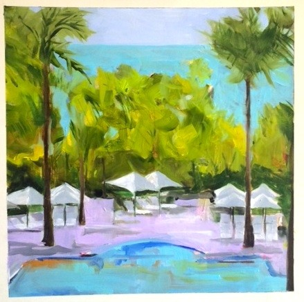Poolside - SOLD