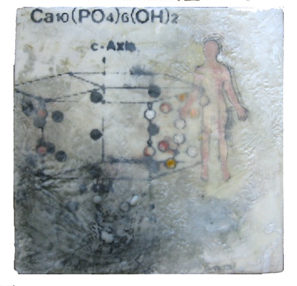 Ascention- encaustic- Carrie Ann Plank