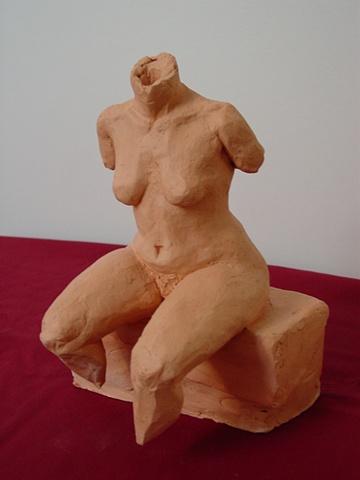 Seated Female Torso