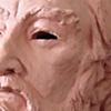 Bust of Bearded Man