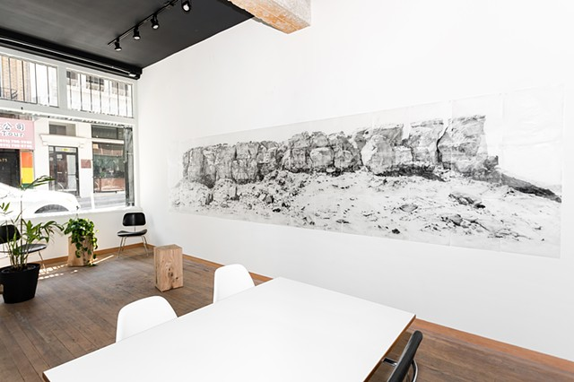 The Far Range, Installation view