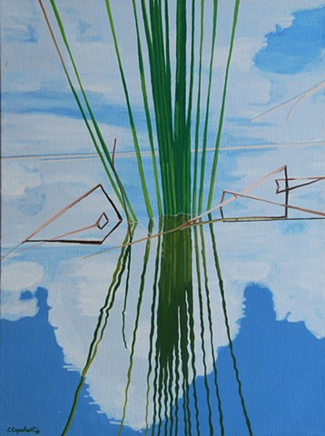 Northwood Pond Grasses I