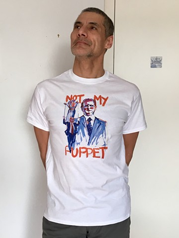 Not My Puppet T shirt