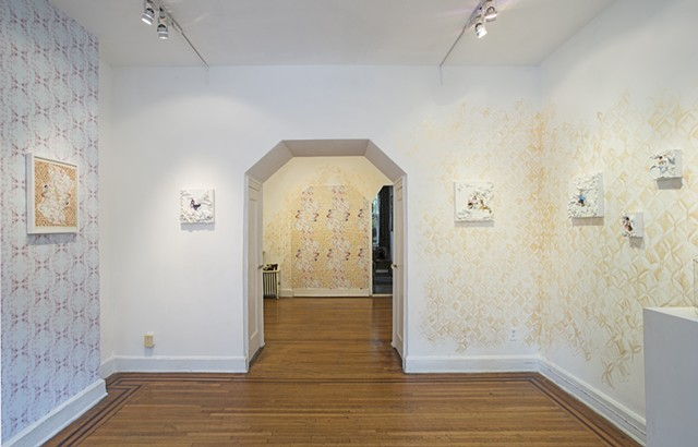 2 Room installation view