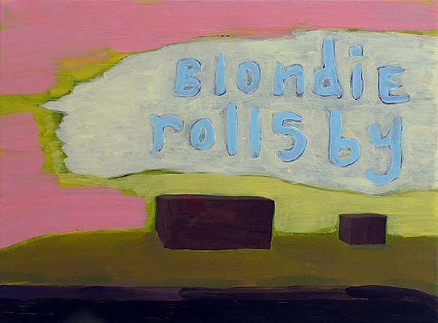 Blondie Rolls By