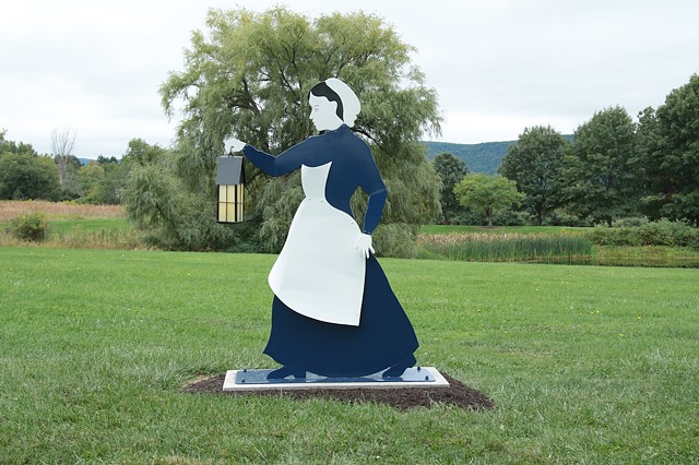 Tompkins County Civil War Nurses Memorial at Tompkins Cortland Community College, Dryden, NY