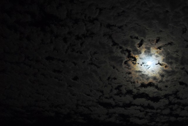moon, night sky, moonlight, supermoon, super moon, clouds, cloudy night, photography