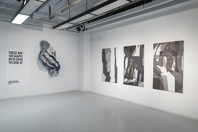Thesis Exhibition (Installation View), Concordia University