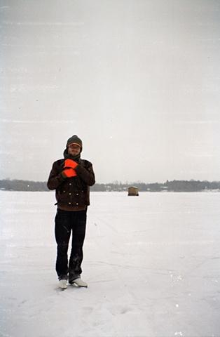 Michael on Locke Lake, Hasty MN