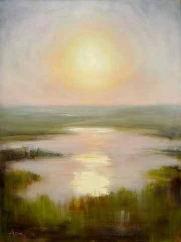 Sunrise with Coffee - SOLD