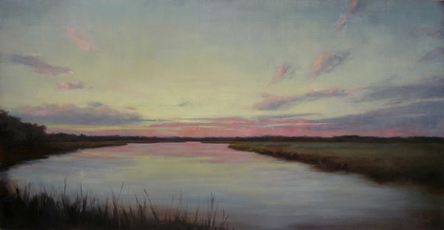Sunset on Ellis Creek - Commission - SOLD