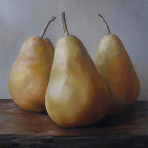 Together (Three Pears Standing) - SOLD