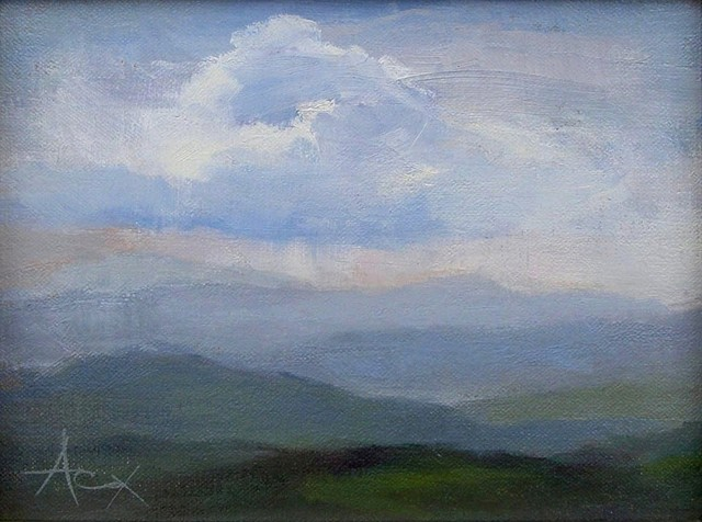 SW View with Cloud - SOLD