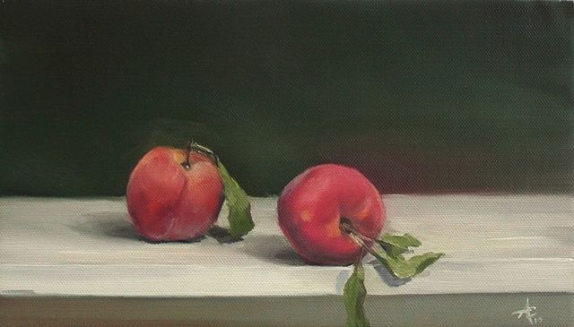 Two Peaches -SOLD