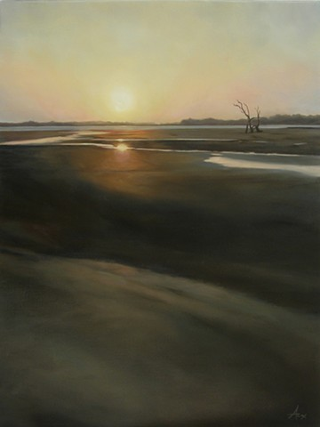 Commission - Last Light: Sunset - SOLD