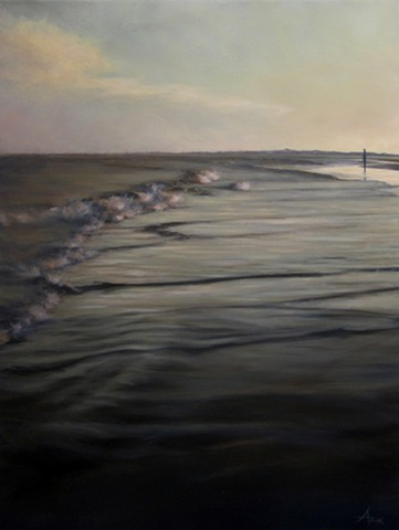Commission - Last Light: Waves - SOLD