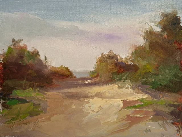 Morning at Moultrie - plein air study - SOLD