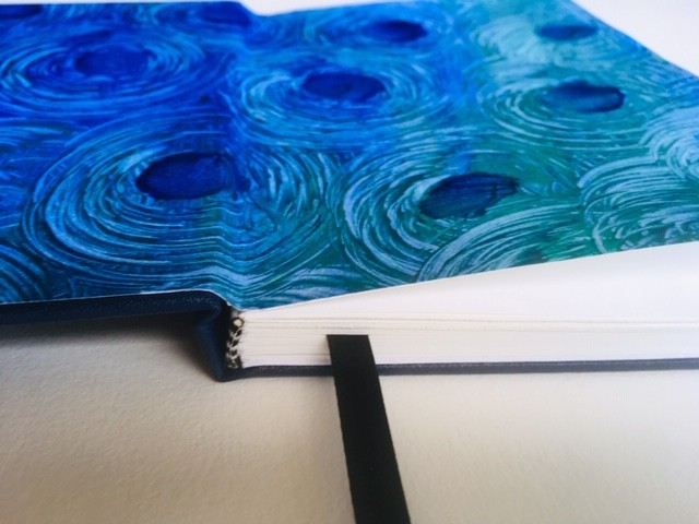 Handmade paste papers/ end papers