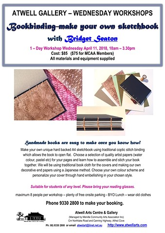 Bookmaking Workshop - Make your own sketchbook