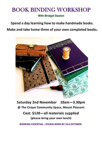Book Binding Workshop at Cirque Community Space